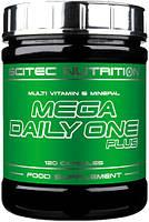 Витаминно-минеральный комплекс Scitec Nutrition Mega Daily One Plus (120 капс)
