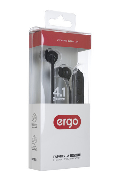 Наушники ERGO BT-801 .
