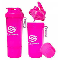 Шейкер SmartShake Slim NEON Pink (500 мл)