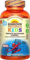 Витамины для детей Sundown Naturals Kids Multivitamin Spiderman (180 г)