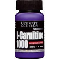 Жиросжигатель Ultimate Nutrition L-Carnitine 1000 (30 таб)