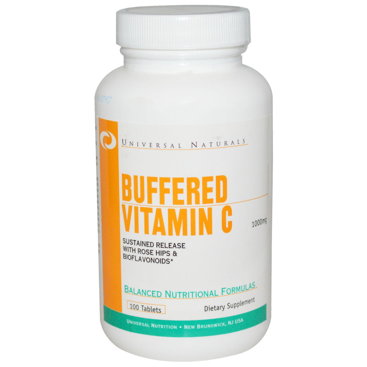 Комплекс витамина С Universal Vitamin C buffered 1000 мг (100 таб)