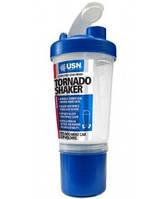 Шейкер USN Tornado Shaker 2 in 1 (600 мл) (Синий)