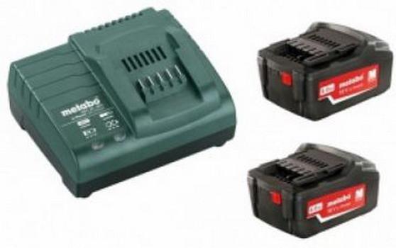 Базовый комплект Metabo 2 x 4.0 Аг + ASC 30-36 В