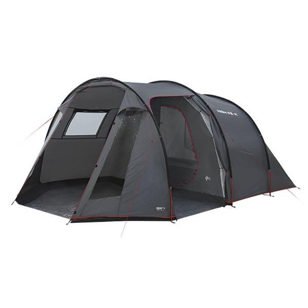 Палатка High Peak Ancona 4 (Dark Grey/Red)