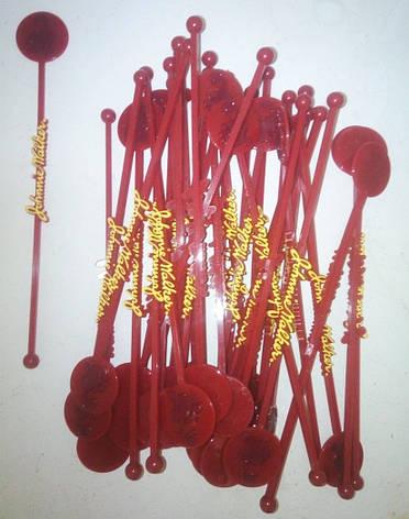 Свизлы, мешалки пластиковые для коктейлей Johnnie Walker, фото 2