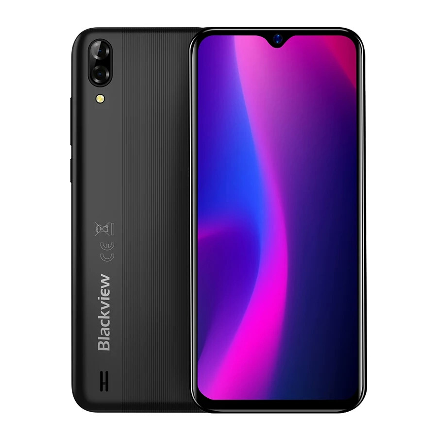 "Смартфон Blackview A60 Black 6.1"" 1280x600 1/16Гб 4080 мАч+чехол НОВИНКА"