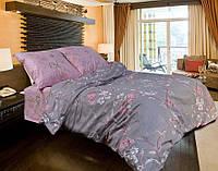"""Полуторное постельное белье """"Gold"""" - Розово серое"""