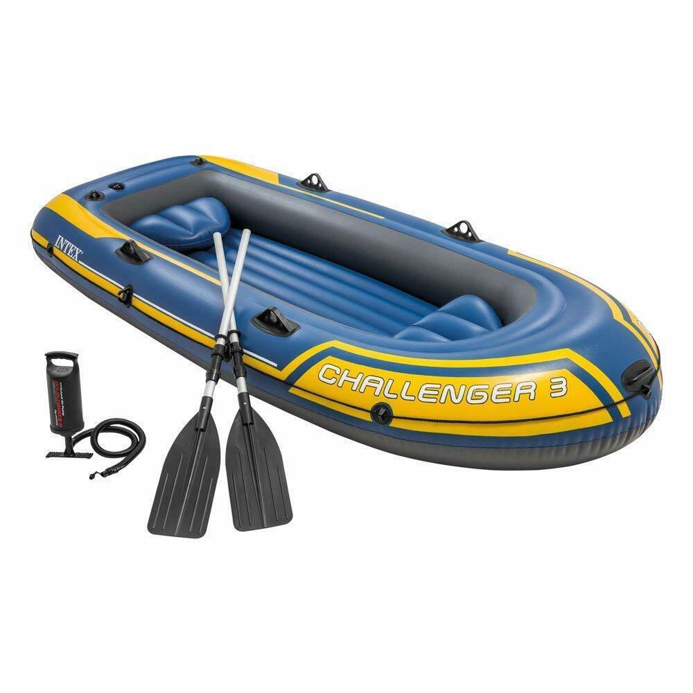 Надувная лодка Intex Challenger 3 68370 (295х137 см.)
