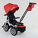 Трехколесный велосипед красный Best Trike модели 9288 пульт надувн колеса поворот сидение музыка свет, фото 2