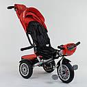 Трехколесный велосипед красный Best Trike модели 9288 пульт надувн колеса поворот сидение музыка свет, фото 5