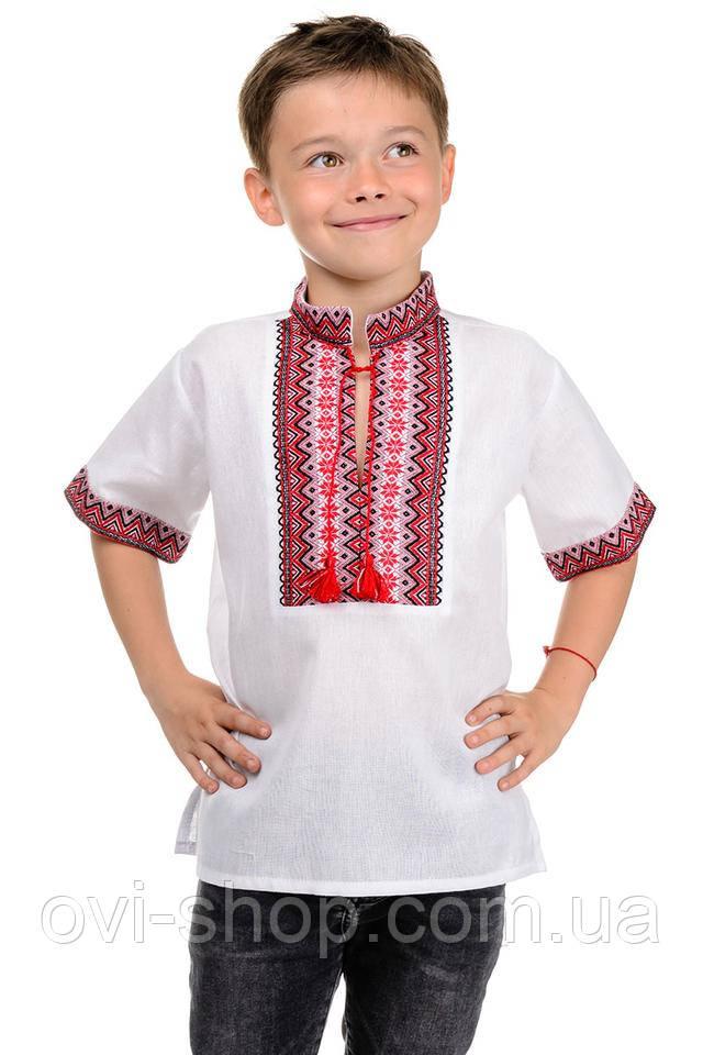 вышиванка детская короткий рукав