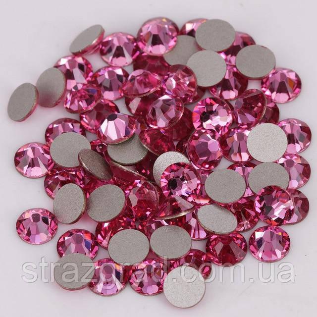 Стразы клеевые Premium Rose SS20 Non-hot Fix 100 шт. Стразы холодной фиксации