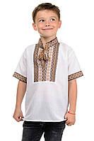 """Рубашка """"Вышиванка"""" детская короткий рукав"""
