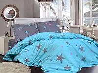 Комплект постельного белья Евро стандарта Gold звездное небо