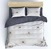Комплект постельного белья Евро стандарта Gold одуванчики