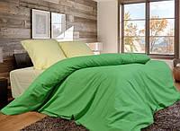 Комплект постельного белья Евро стандарта Gold светло-зеленое