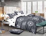 Комплект постельного белья Евро стандарта Gold бабочки одуванчики