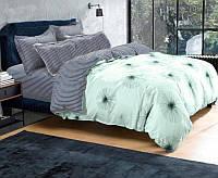 Комплект постельного белья Евро стандарта Gold одуванчик