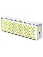 Портативная колонка ROCK Mubox Bluetooth Speaker yellow