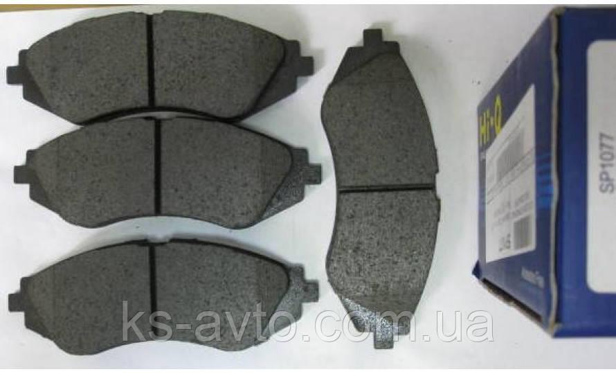 Колодки передние тормозные Ланос 1.6 Hi-Q