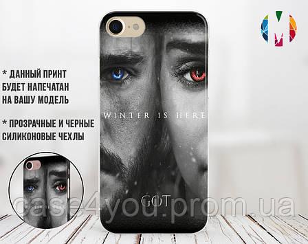 Силиконовый чехол для Huawei P8 Lite (2018) (Games of Thrones 8-11), фото 2