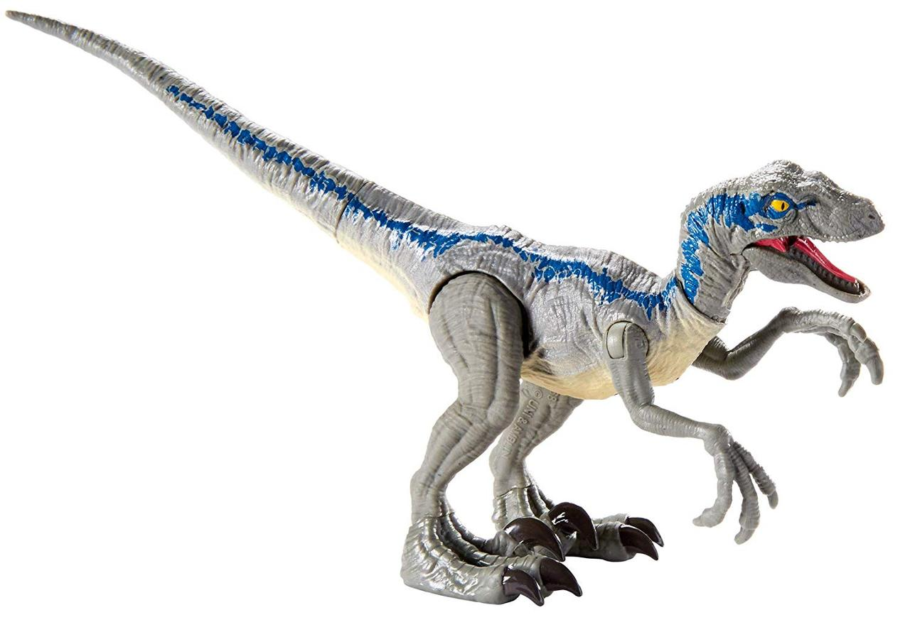 Jurassic World Велоцираптор блакитний