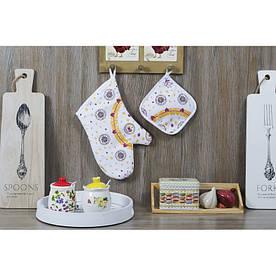 Кухонный набор Lotus Daily - Coffee time рукавица+прихватка