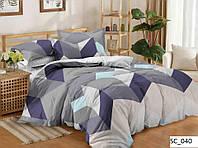 Сатиновое двуспальное постельное белье Люкс
