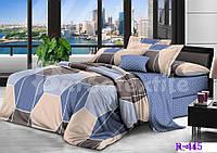"""3D Полуторное постельное белье """"Ranforce"""" - Геометрия"""