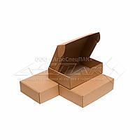 Картонные коробки самосборные 310*220*85 бурые, фото 1