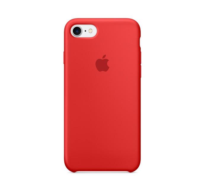 Чехол Original Silicone Case для iPhone 7/8 Red