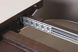 Обеденный раздвижной стол DETROIT 160/220*90 см крем/венге Nicolas (бесплатная доставка), фото 4