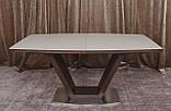 Обеденный раздвижной стол DETROIT 160/220*90 см крем/венге Nicolas (бесплатная доставка), фото 10