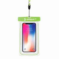Чехол водонепроницаемый Seagard для мобильных телефонов (с диагональю экрана до 6 дюймов) Green