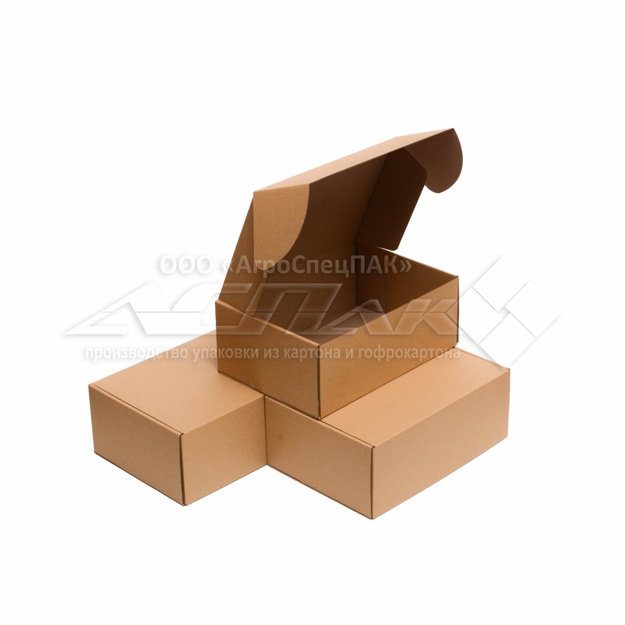 Картонные коробки самосборные 310*220*120 бурые