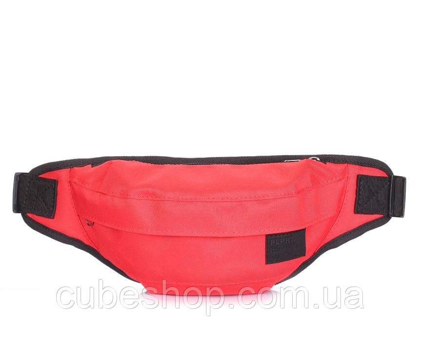 Сумка-бананка на пояс Poolparty Bumbag Oxford Red