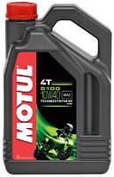 Motul 5100 4T SAE 10W40 4L Мотюль 4т масло для мотоциклов