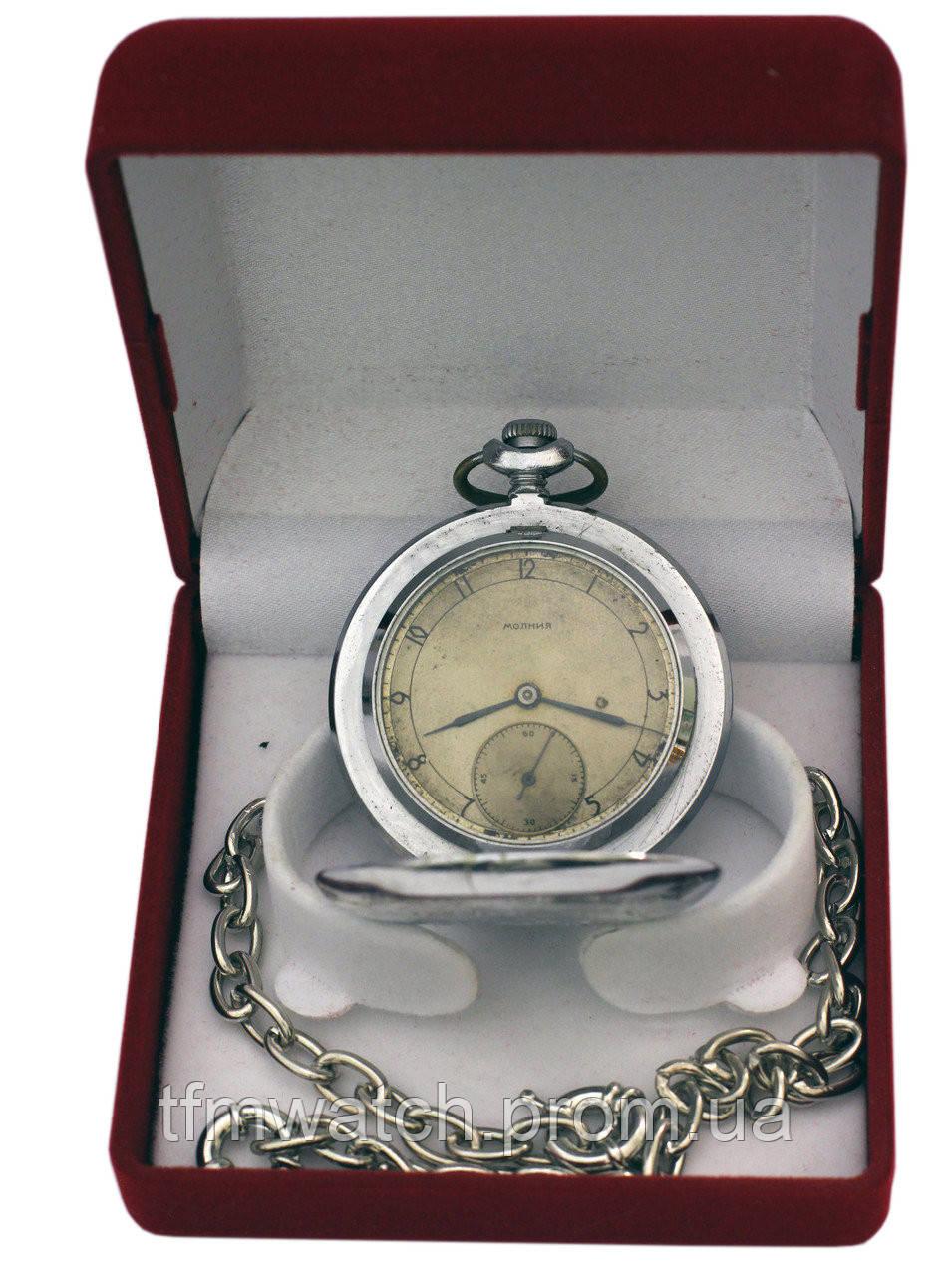 Молния карманные часы для охотника, фото 1