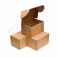 Картонные коробки самосборные 310*220*190 бурые, фото 1