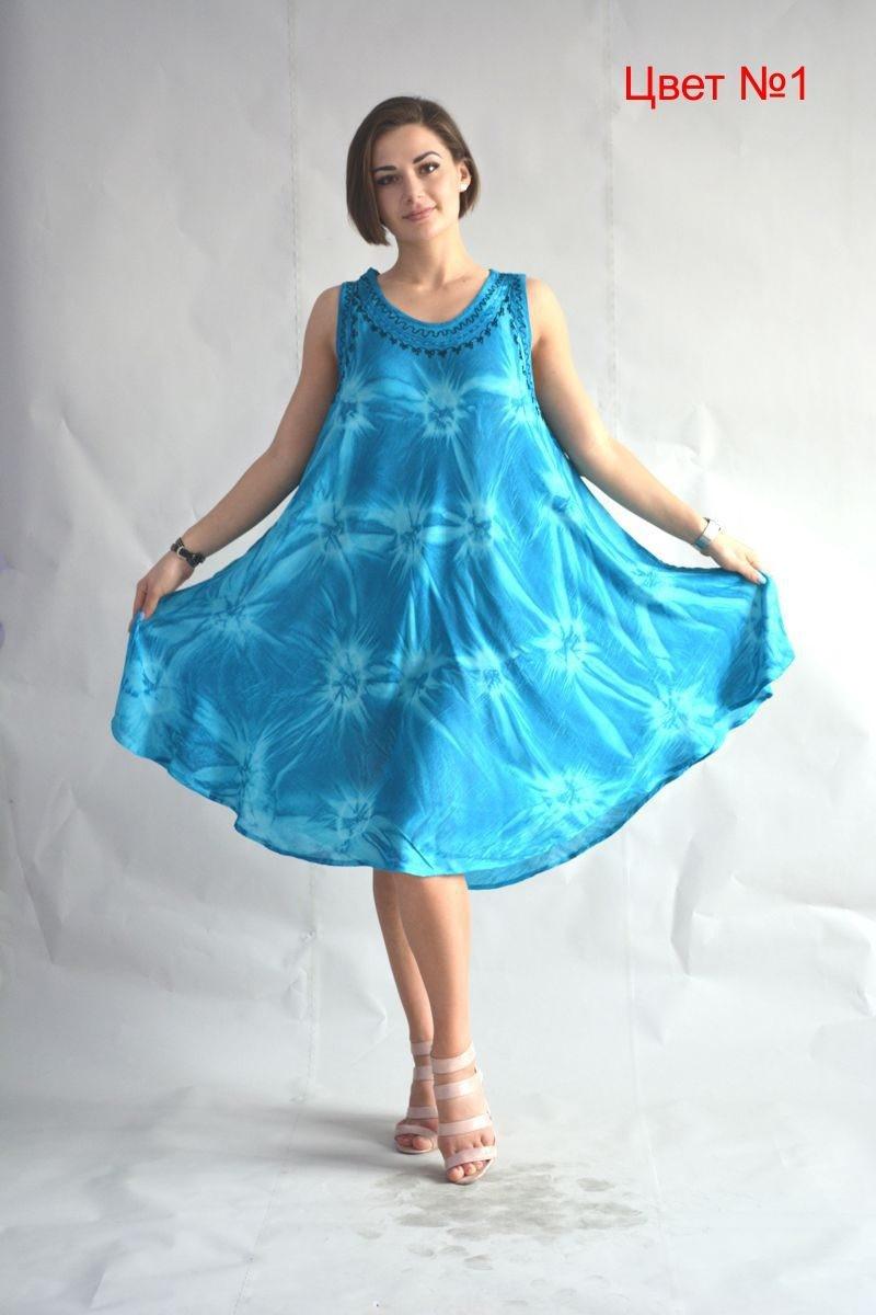 Женское свободное платье