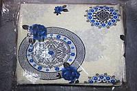 """Комплект полуторного постельного белья жатка """"Тирасполь"""" абстракция"""