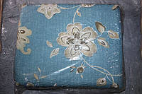 """Комплект полуторного постельного белья жатка """"Тирасполь"""" бежевые цветы"""