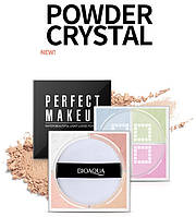 Палетка для коррекции лица BIOAQUA Perfect MakeUp Water Beautiful Light Loose Powder #02 (12г)