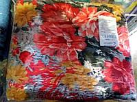 """Комплект постельного белья Евро размера жатка """"Тирасполь"""" цветы в саду"""
