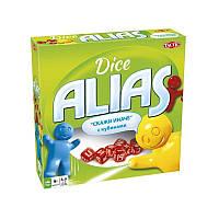 Настольная игра Alias(Элиас) с кубиками Tactic