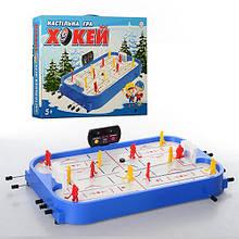 Настольная игра - Хоккей 12 игроков, ворота, табло, игровое поле.
