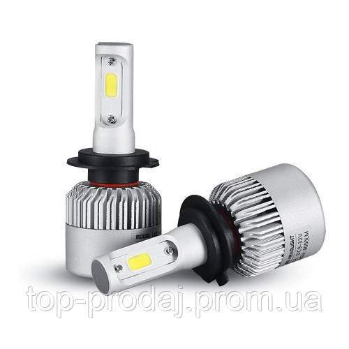 Автолампа лед  Т1 Н7, Светодиодная лампа головного света для автомобиля, LED лампа для авто