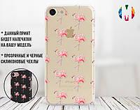 Силиконовый чехол для Xiaomi Redmi 6A Many flamingos (31051-3100)