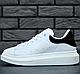 Женские кроссовки Alexander McQueen Oversized Sneaker White/Black, фото 8